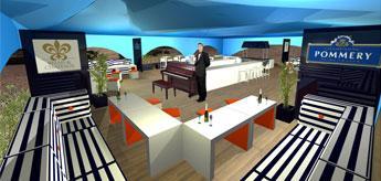 Floating Pommery bar planned for St Katharine Docks