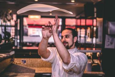 Crazy Pizza brings dough tossing and more to Marylebone