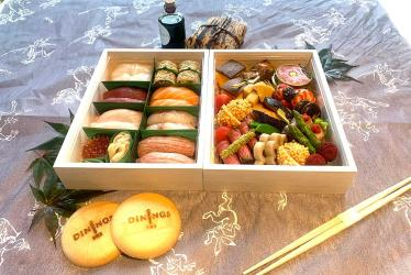 Test Driving Dinings SW3's luxury bento box - almost too pretty to eat