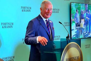 The Prince of Wales heads a starry list of winners at this year's Fortnum & Mason's Food and Drink Awards