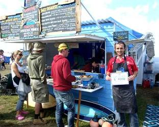 Welsh beach forager wins Street Food Awards and coveted Olympic Village spot