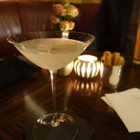 A post dinner martini in the main bar
