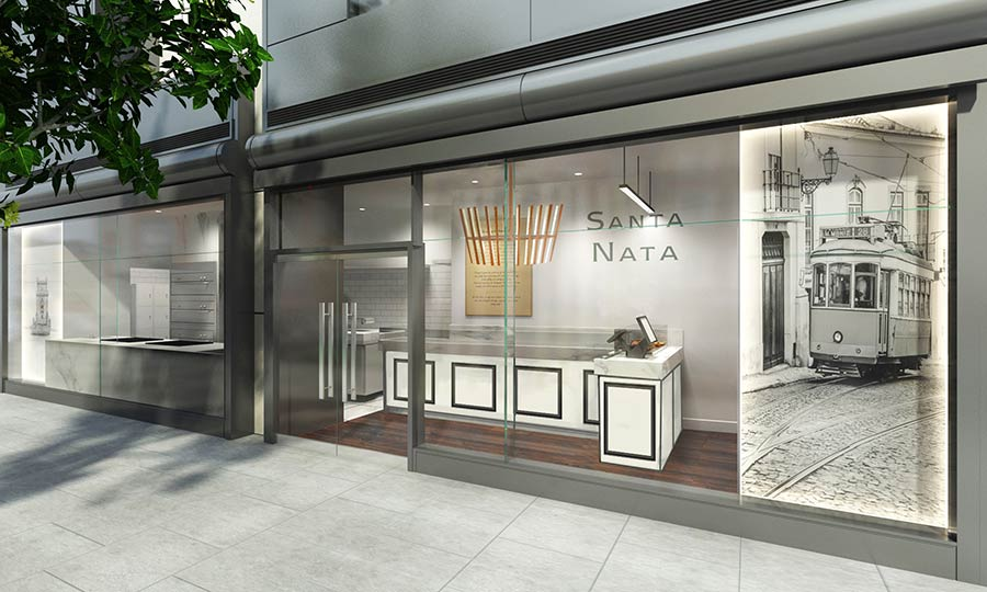 Santa Nata brings more custard tarts to Covent Garden