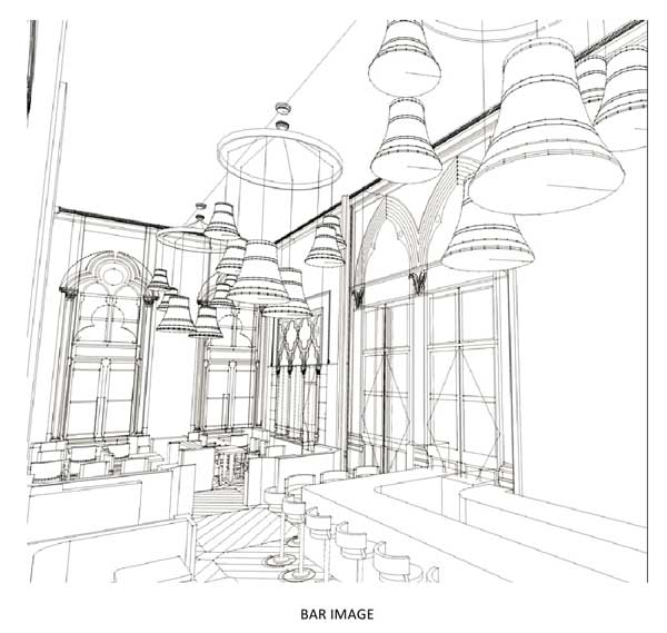 Marcus Wareing's Gilbert Scott designs revealed