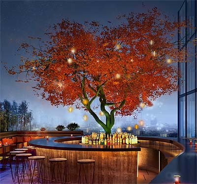 South American and Japanese fusion with a view - we scale the heights of Sushisamba