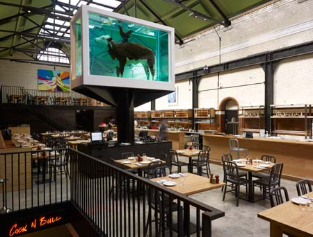 Tramshed photo © Damien Hirst, 2012