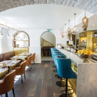 Tramshed kitchen table newman street tavern and more win for Piccolino hotel decor