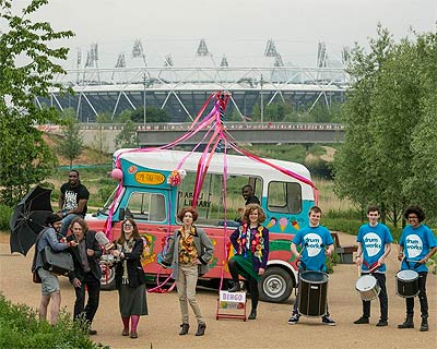 Open East Festival at the Olympic Park features a big foodie line-up