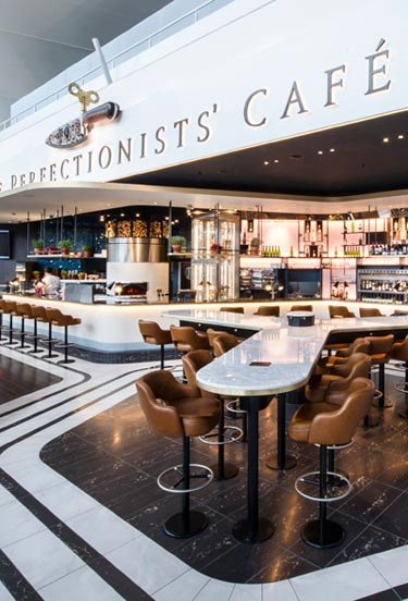 Heston at Heathrow - we Test Drive the Perfectionists' Cafe