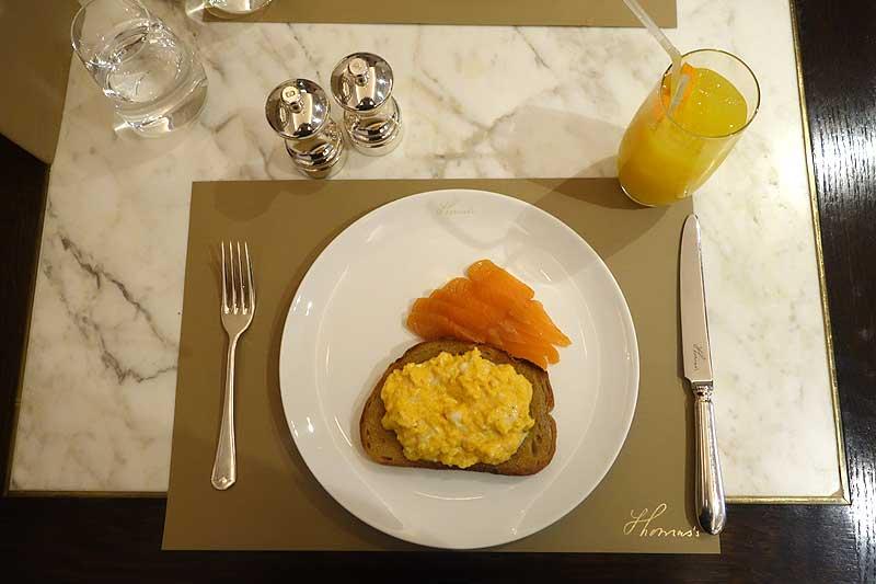 Burberry Cafe Breakfast Menu