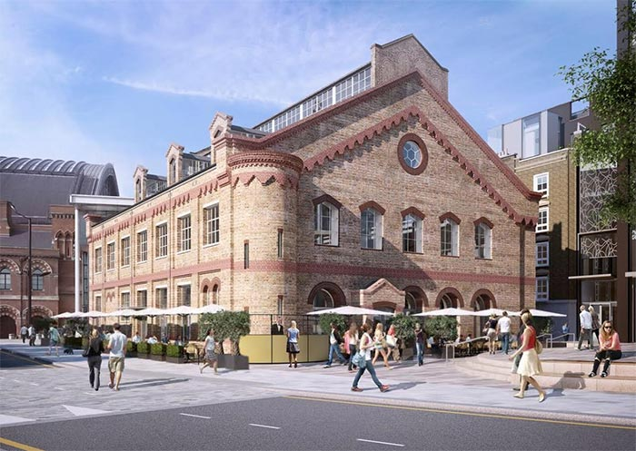 German Gymnasium gets ready to open in King's Cross from D&D