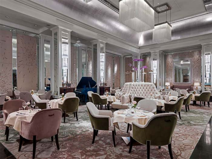 Palm Court at the Langham gets a fancy makeover