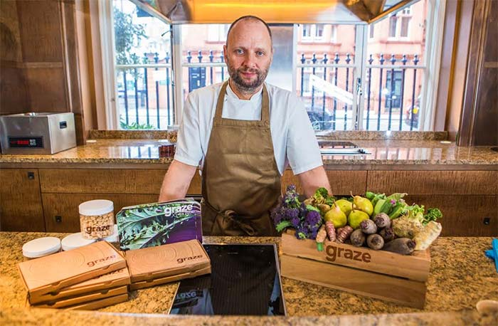 Fera's Simon Rogan joins up with Graze for a new range of snacks