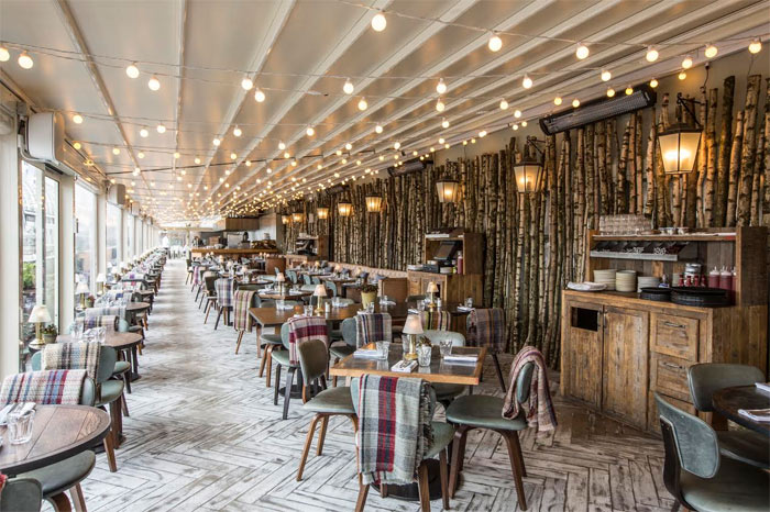 Selfridges launches the Forest Restaurant & Cabin Bar on the roof