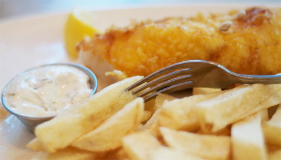 Sutton and Sons fish & chip pop-up opens at Boxpark