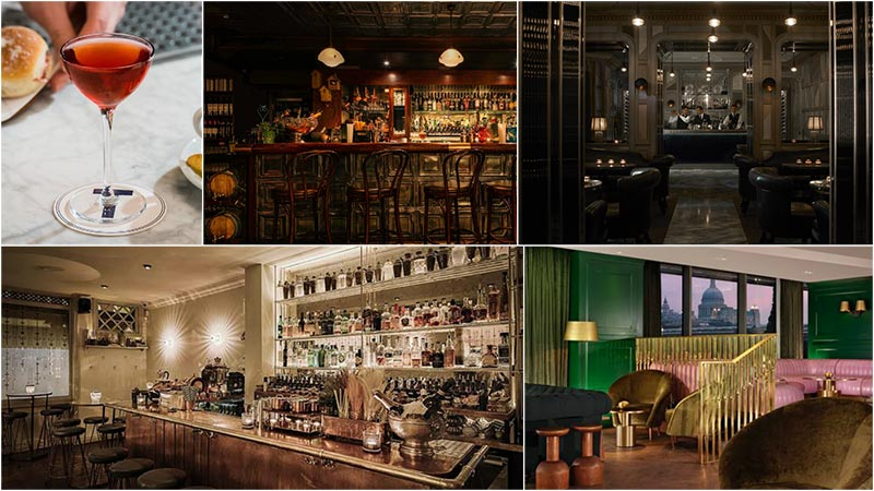 London bars take half of the top 10 in the World's 50 Best Bars list