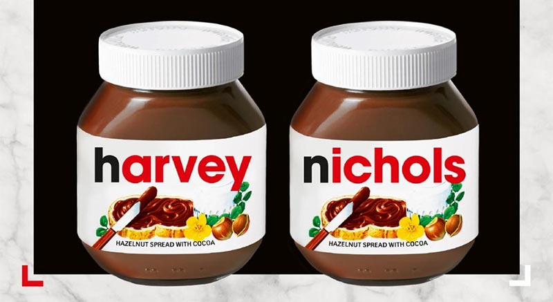 A Nutella pop-up has come to Harvey Nichols' terrace for Christmas