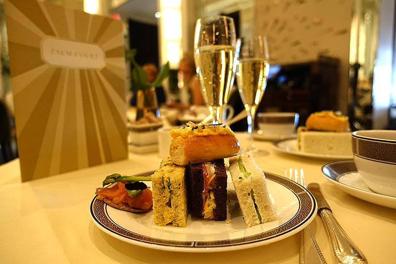 Test Driving Cherish Finden's afternoon tea in Palm Court at the Langhham