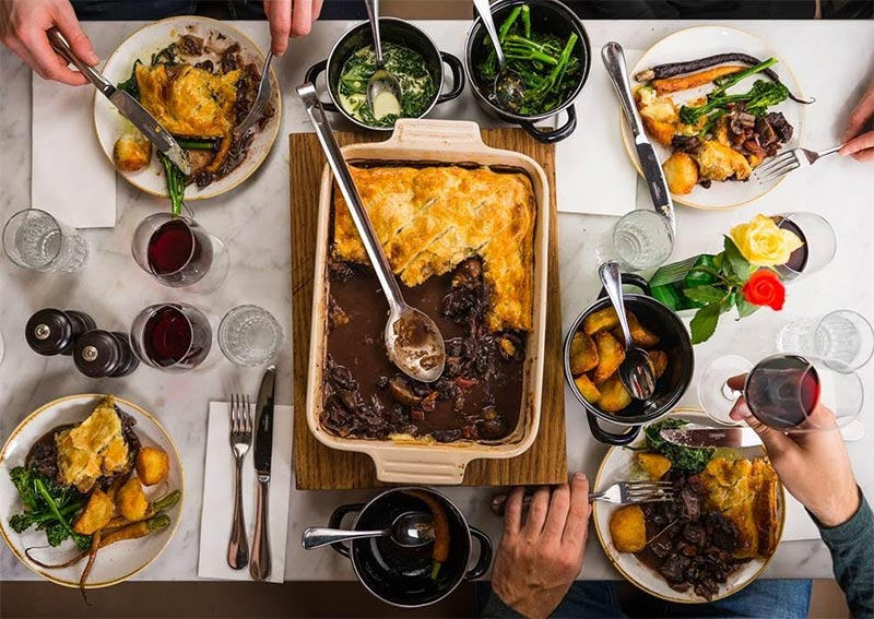 Petit Pois launches a pie-fuelled Sunday lunch