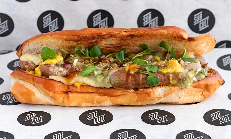 Duck, gruyere, and fermented ginger: the Tom Sellers Sub from Sub Cult is here.