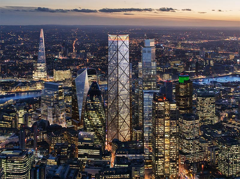The Trellis skyscraper will have London's highest restaurant