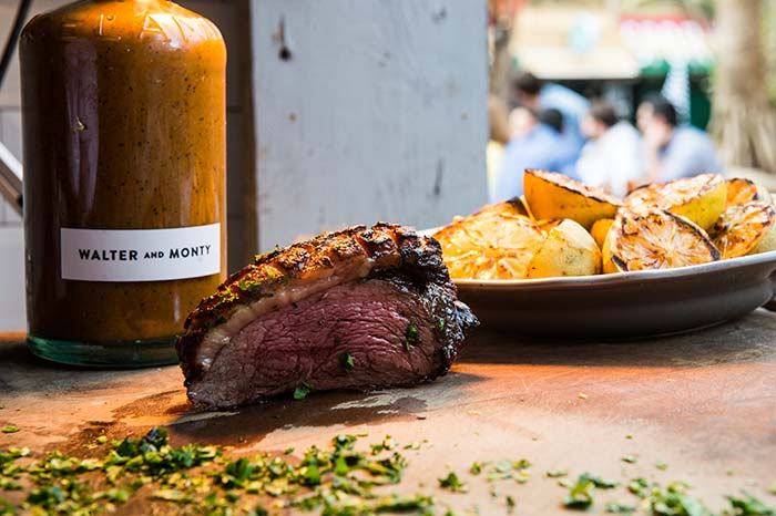 Walter and Monty charcoal grilled street food goes permanent in the City