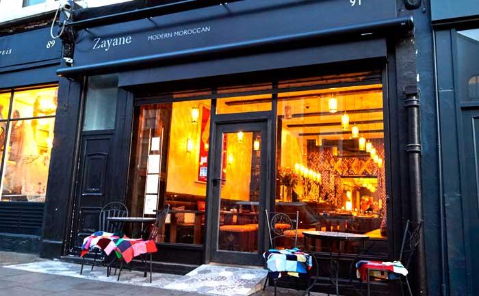 Zayane Brings Modern Moroccan Food To Golborne Road