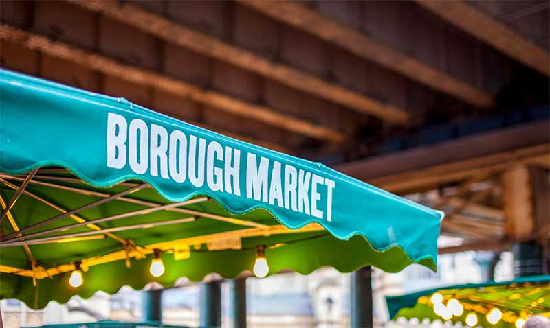 Borough market restaurant guide