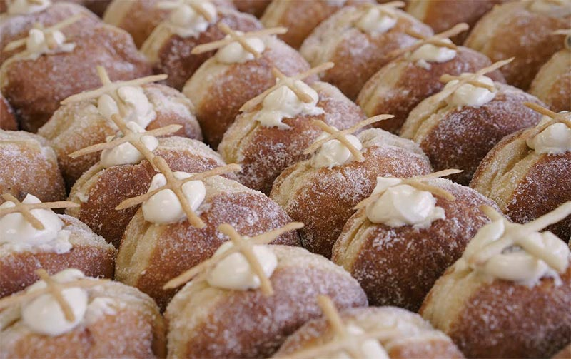 Bread Ahead launch hot cross doughnuts