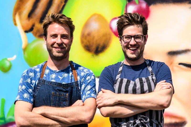 Masterchef losers Bill & Jack pop up with a summer supper club in Southbank