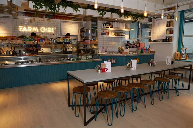 Farm Girl brings superfood lattes, smoothie bowls and coconut BLTs to Soho