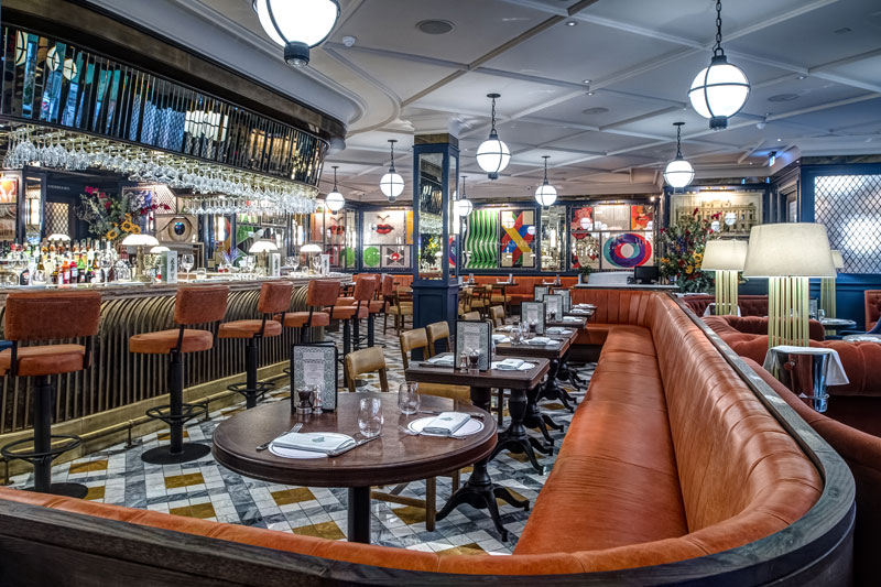 The Ivy Soho Brasserie is their new all-day brasserie