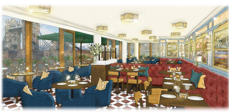The Ivy Cafe comes to Tower Bridge
