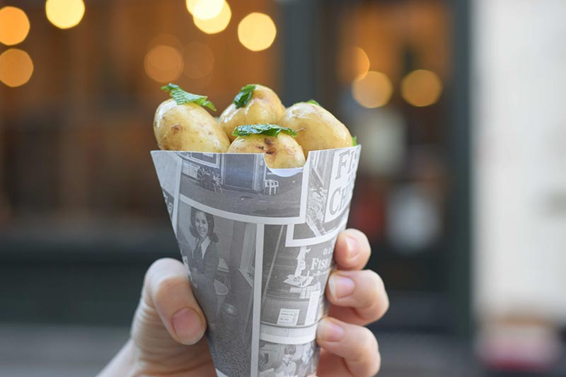 Jimmy Doherty will be serving up cones of potatoes in Covent Garden