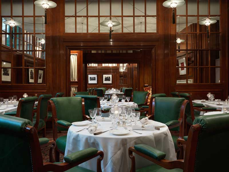 Lutyens Grill At The Ned Is Opening To The Public Latest