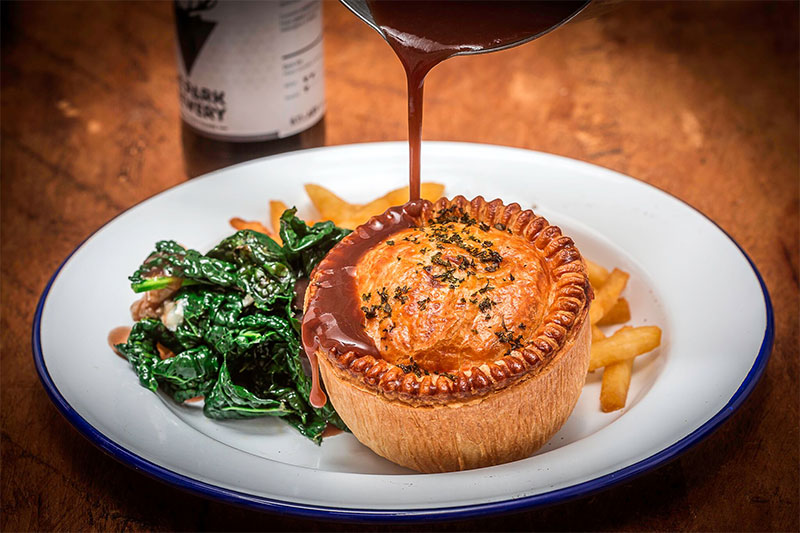 MYPIE pie residency is taking over the King & Co in Clapham