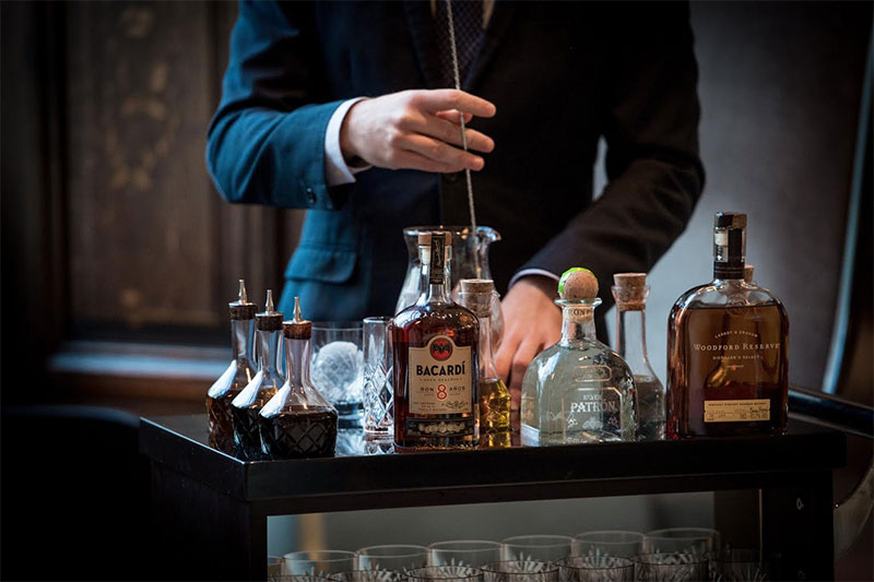 The Old Fashioned trolley launches at One Aldwych
