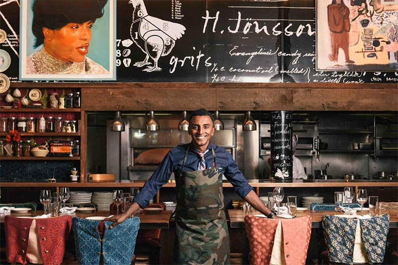 Marcus Samuelsson's Red Rooster is opening in Shoreditch at the Curtain Hotel