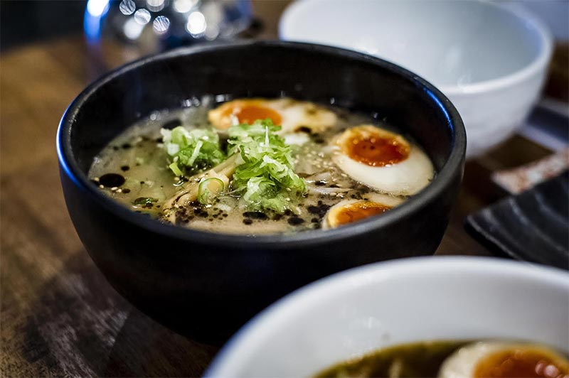 Tonkotsu pops up at Proud East with their ramen and korokke