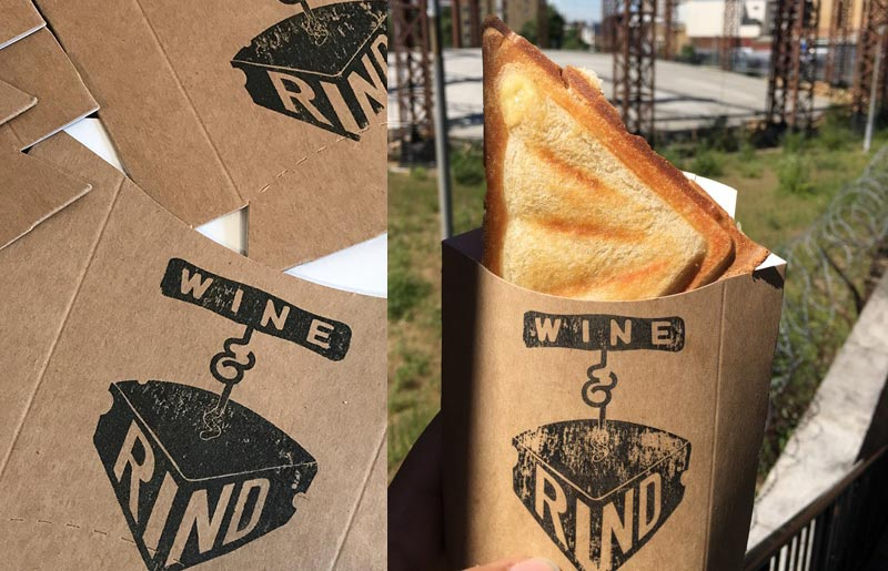 Wine & Rind bring Breville cheese toasties to St Pancras