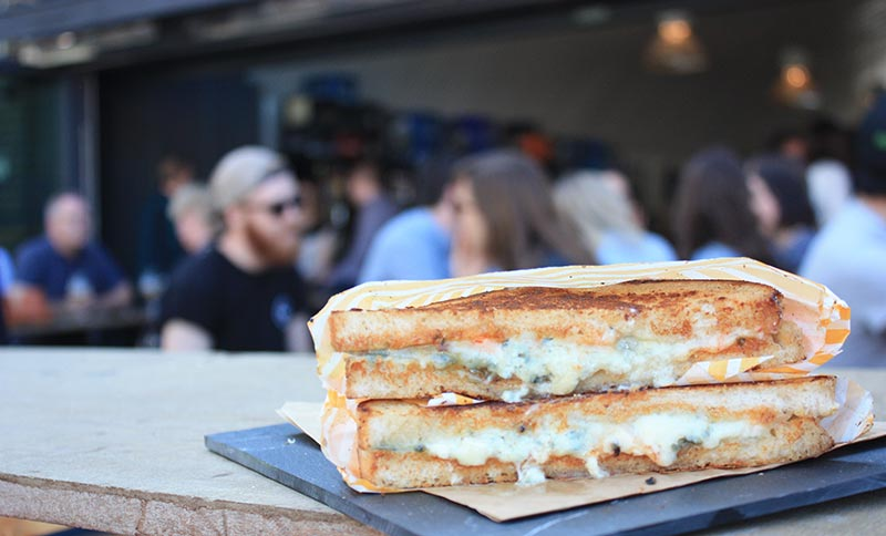 Woody Bear's cheesy boozy rooftop pop-up comes to Oxford Street