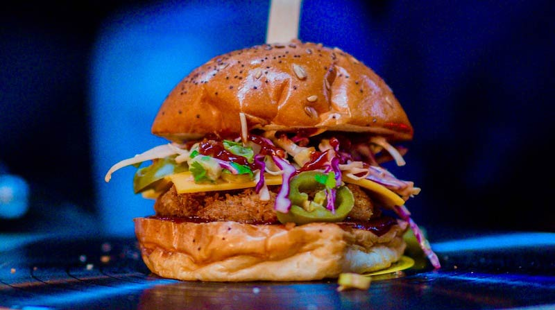 Biff's Jack Shack brings deep-fried jackfruit burgers and more to Boxpark Shoreditch
