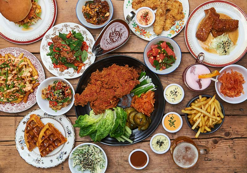 La Cabina Haggerston : Haggerston hot dinners