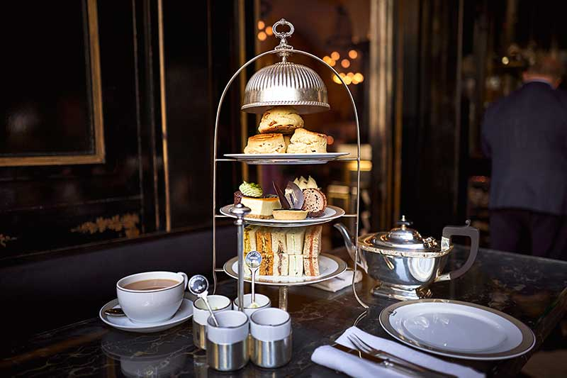 chocolate afternoon tea at the wolseley