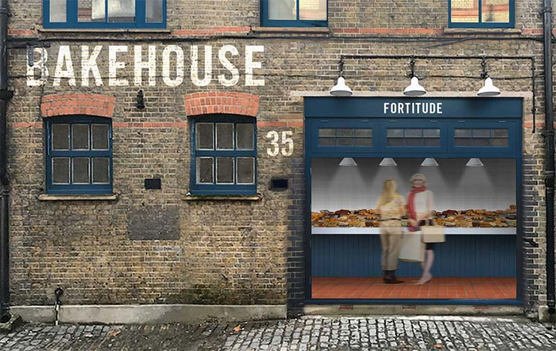 Sourdough cake and slow fermented bakes at Bloomsbury's Fortitude Bakehouse