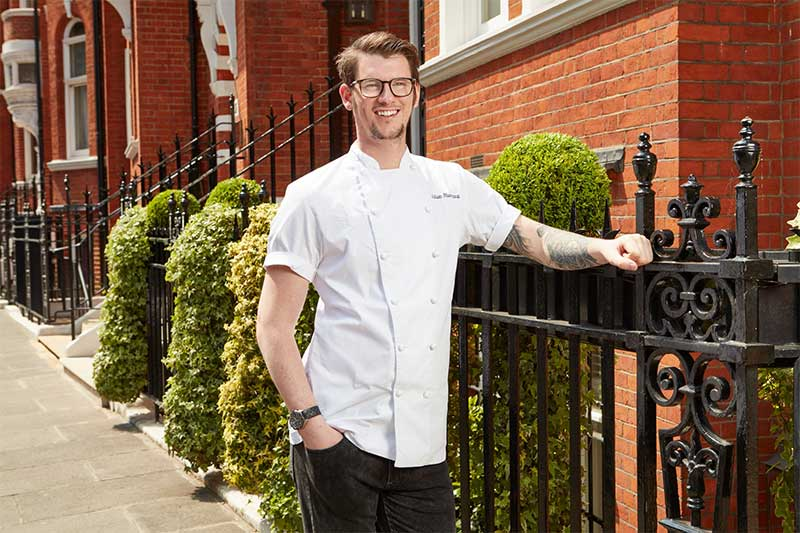 adam handling cadogan hotel london restaurant