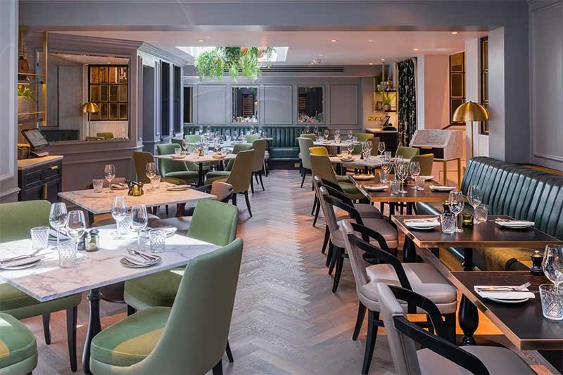 Hans' Bar and Grill opening on Chelsea's Pavilion Road is from the Chewton Glen team