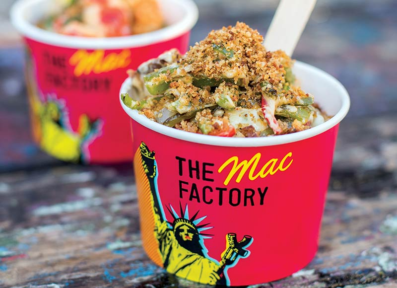 Mac n Cheese to go from The Mac Factory, popping up at Debenhams on Oxford Street