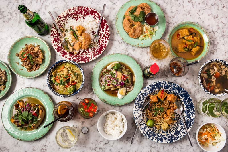 Rosa's Thai Cafe Soho goes veggie for three months