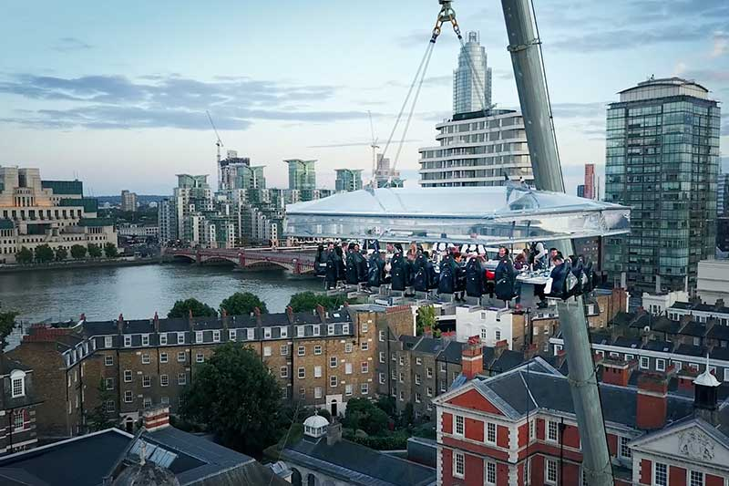 London In The Sky 2018 Trebles With Three Sky High Tables